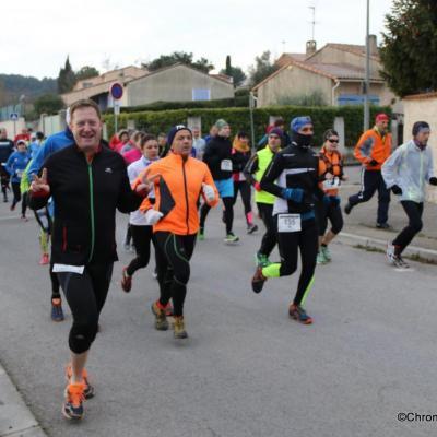 Course Boucle Gardannaise 08012017 Chrono Libre PG