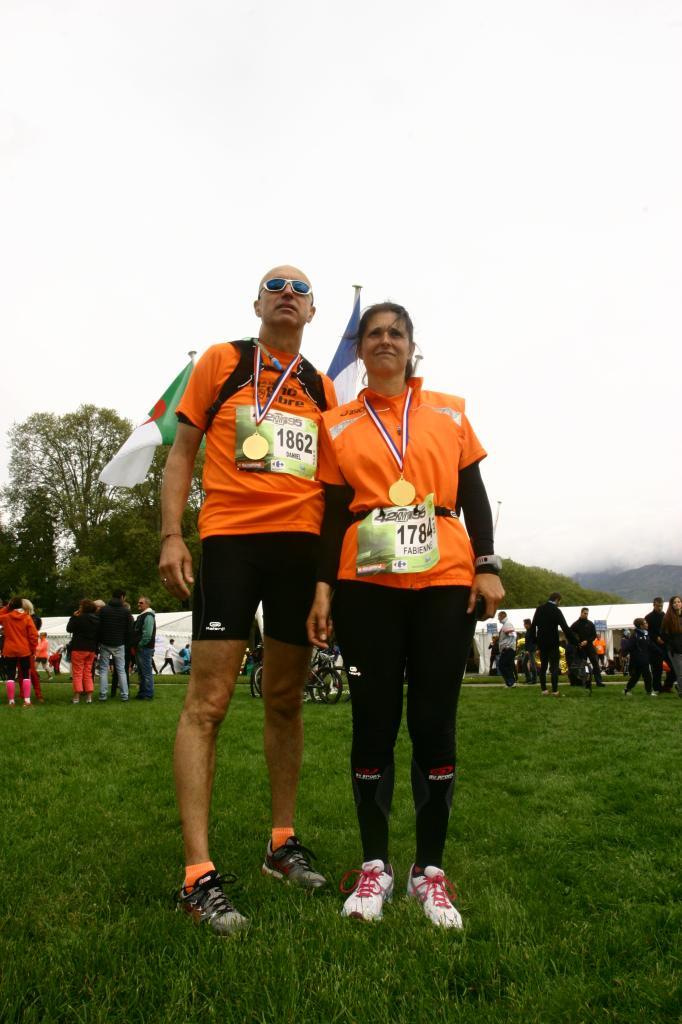 Marathon du Lac d Annecy  42Km 27 avril 2014