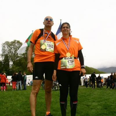 Marathon du Lac d'Annecy 27042014