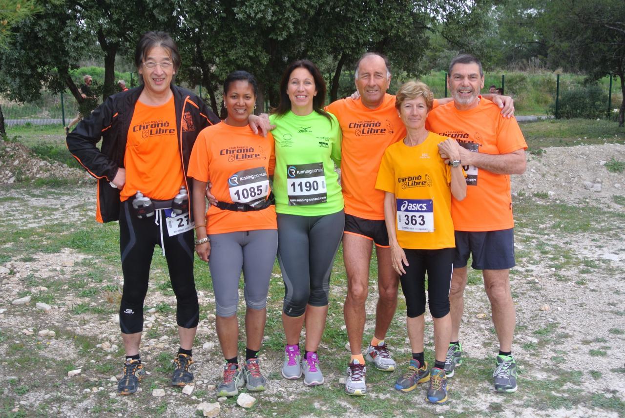Trail des 6 collines Cabries 30032014
