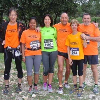 Trail des 6 colines Cabries 30032014