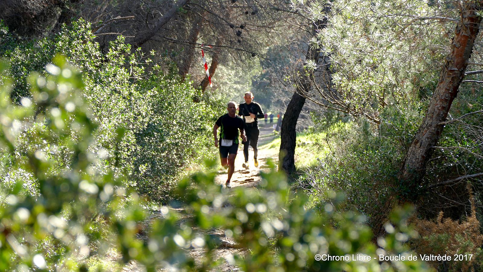 Deux courses nature de 14km et 8km et un trail de 25km