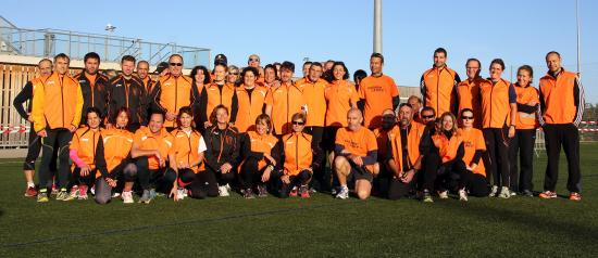 Benevoles course gazelles 2014