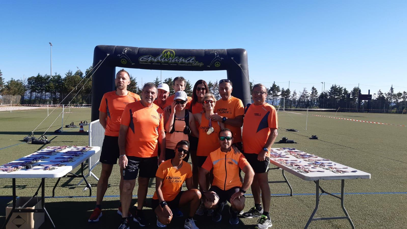 Equipe cross des gazelles 2021